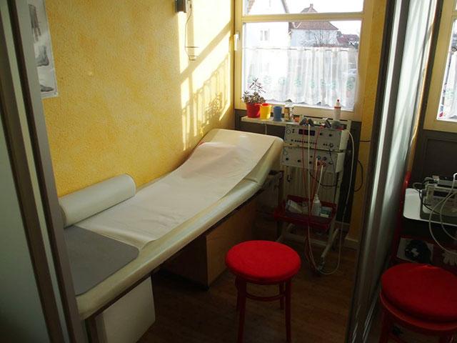 Sprechzimmer und Raum für kleinere Eingriffe